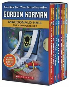 MACDONALD HALL THE COMPLETE SET by Gordon Korman -New