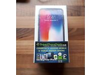 APPLE IPHONE X 256GB (SPACE GRAY) - UNLOCKED TO ALL NETWORKS - NEW SEALED - APPLE WARRANTY