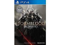 Stormblood final fantasi XIV Online for ps4