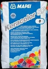 Mapei Tile Grout White 5 Kg pack.