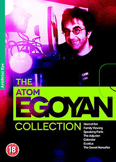 - THE ATOM EGOYAN COLLECTION - EXOTICA / THE ADJUSTER / FAMILY - DVD - REGION 2 UK