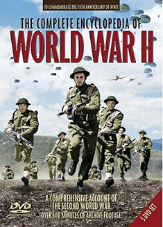 DVD:THE COMPLETE ENCYCLOPEDIA OF WORLD WAR TWO - NEW Region 2 UK