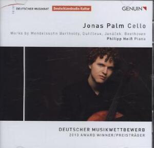 CD Jonas Palm Cello Philipp Heiß Deutscher Musikwettbewerb 2013