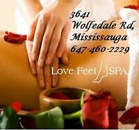 ﴾ ͌͜ ͌ Massage with ❤❤ ($50/h )647-460-2229 Mississauga