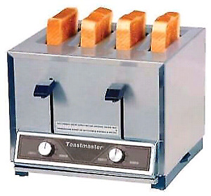 Toastmaster TP424 Four Slot Commercial Pop-Up Toaster 300 1HR