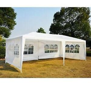 USED Outsunny 01-0265 Party Gazebo Tent, 10x 20 Condtion: USED