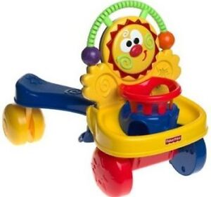 Fisher-Price Go Baby Go Stride-to-Ride Walker