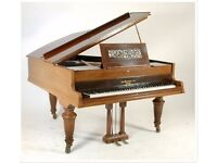 A John Broadwood And Sons Boudoir Grand Piano