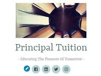 Principal Tuition - Educating The Pioneers Of Tomorrow - A level, GCSE, KS3 and KS2