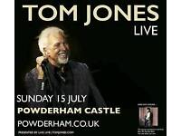 2 x Tom Jones Tickets at Powderham