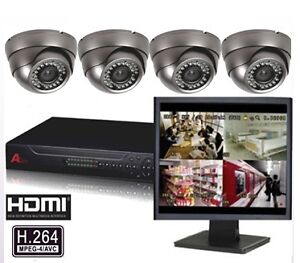 CCTV- HD Security Camera Sys 1080/720p•3/4/5mp Pro-Installation*