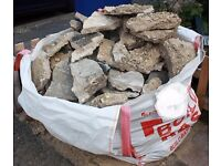 Concrete rubble free to collect