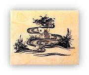 Koi Rubber Stamp