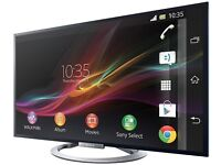 """Sony Bravia KDL-55W805A - 55"""" Smart 3D LED TV RRP£990 BUY NOW FOR 650 JOHN LEWIS X DISPLAY TV"""