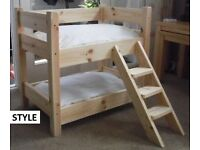 SOLID PINE, BRAND NEW, PET BUNK BEDS