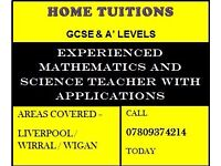Home / Private Maths, Physics & Chemistry GCSE , A' Levels Tutorial