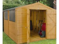 Garden Shed 10ft x 8ft (Approx)
