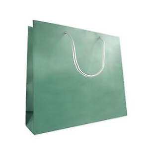 Bulk lot Metallic Large Plastic Gift Shopping Bags