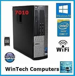 Dell Optiplex 7010 i7 8GB Memory sff Desktop Computer