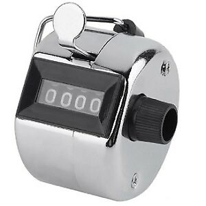 4 Digit Hand Tally Counter
