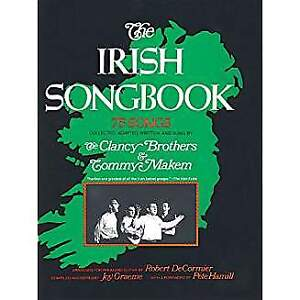 Irish Songbook 75 Songs Clancy Brothers  Tommy Makem Sheet Music