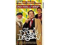 only fools and horses the frogs legacy vhs video