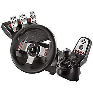 Logitech G 27 Force Feed Racing Wheel for PC