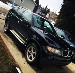 2004 BMW X5 AWESOME WINTER CAR NEED GONE ASAP 6500oboTRADES?