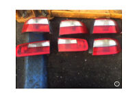 RENAULT LAGUNA BACK LIGHT TAILGATE INNER OUTER 2001-2007 £10 EACH • COLLECTION/POSTAGE