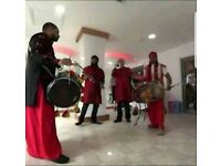 Asian Dhol Players