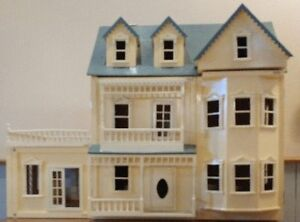 Adorable Two Story Doll House