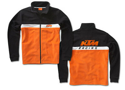 BRAND NEW KTM TEAM POLAR FLEECE ZIP UP JACKET MEN'S LARGE 3PW1355804
