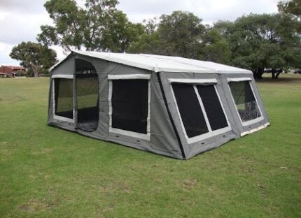 Camper trailer family king size bed  Craigmore Playford Area Preview