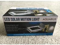 Aquarius LED Solar Motion Light