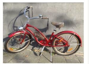 Electra Red Betty Beach Cruiser