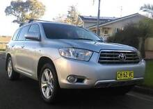 2007 TOYOTA KLUGER GRANDE AWD WAGON,4MONTH REGO,7 SEATS, GPS &DVD Prestons Liverpool Area Preview