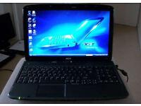 "ACER ASPIRE - 15,6"" LED - WEBCAM CRYSTAL EYE - HDMI PORT - WINDOWS 7"