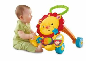 Free box with toys 6-18 months + Musical Lion Walker