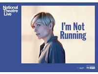 I'm Not Running Tickets at The National Theatre Press Night Tuesday 9th October 2018