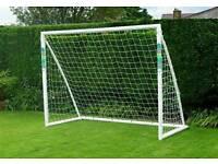 Samba Football goal 8x6ft & carry bag vgc