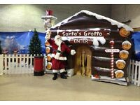 Santas Grotto Hire Christmas Grotto with Santa Clause visit