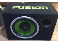 Fusion sub amp