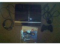 PS3 console with 22 games, Excellent Condition with box, instructions, all leads etc.