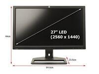 HP ZR2740w 27inch LED Monitor