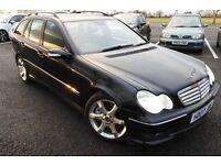 2007 MERCEDES C220 CDI SPORTS AUTO ESTATE***FULL HISTORY-IMMACULATE***EXCELLENT DRIVE ONLY £3250
