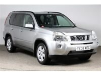 NISSAN X-TRAIL 2000DCI 173BHP ** FULL SERVICE HISTORY ** 12 MOT **NATIONWIDE WARRANTY *100 HPI CLEAR