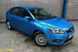 FORD FOCUS 1.6 TITANIUM TDCI 5d 109 BHP (blue) 2011