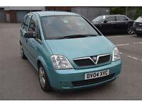 2004 Vauxhall Meriva 1.6 Life Petrol Manual – full 12 months MOT & brand new battery