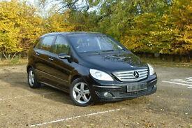 2007 Mercedes-Benz B170 1.7 PETROL AUTOMATIC BLACK