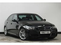 2007 BMW 3 Series 325d M Sport 5dr Saloon Diesel Manual FSH & long MOT msport - over 2k spent in 18m